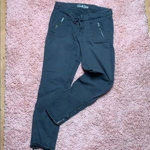 Rockstar Moto Pants with zippers